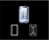 Emerald diamond cut