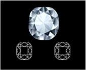 Cushion diamond cut