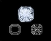Asscher diamond cut
