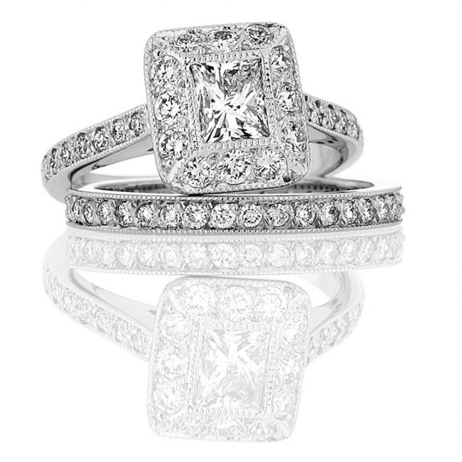 Alinson Wedding Ring - Kush Diamonds