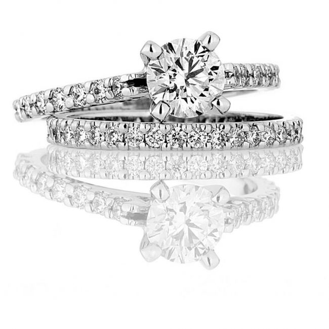 Audrey Wedding Ring - Kush Diamonds