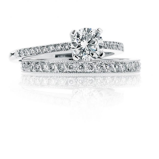 Caitlyn Wedding Ring - Kush Diamonds
