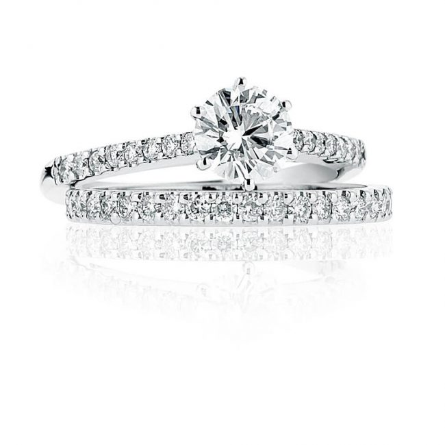Chantel Wedding Ring - Kush Diamonds