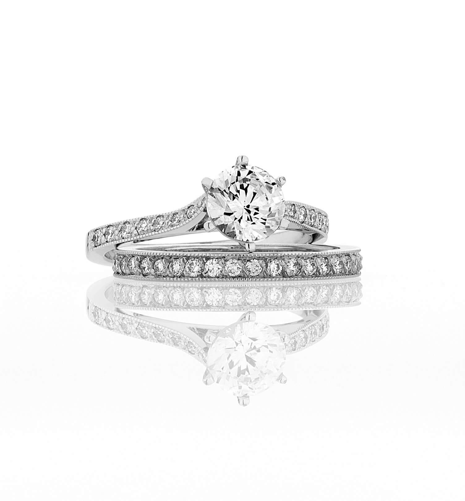 Elizabeth Engagement and Wedding Ring