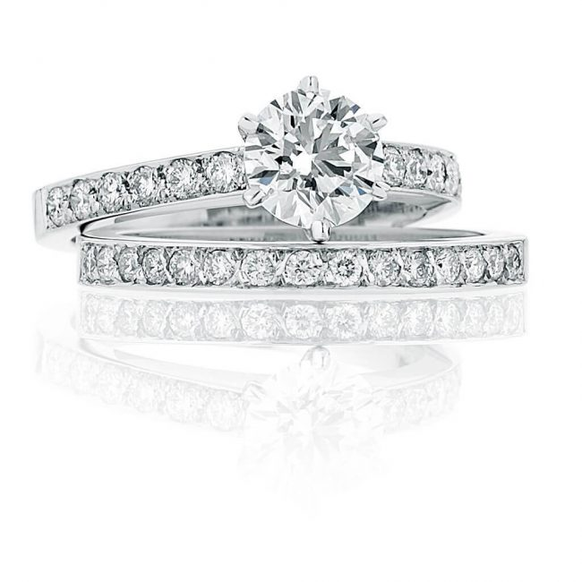 Evelyn Wedding Ring - Kush Diamonds