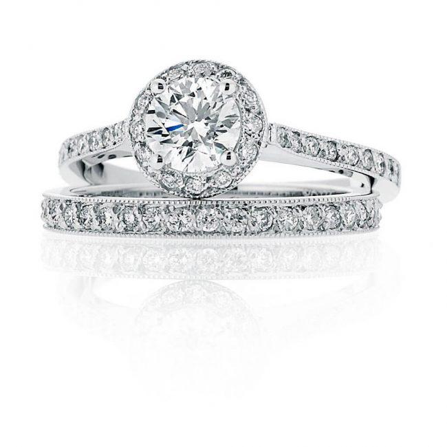 Felicity Wedding Ring - Kush Diamonds