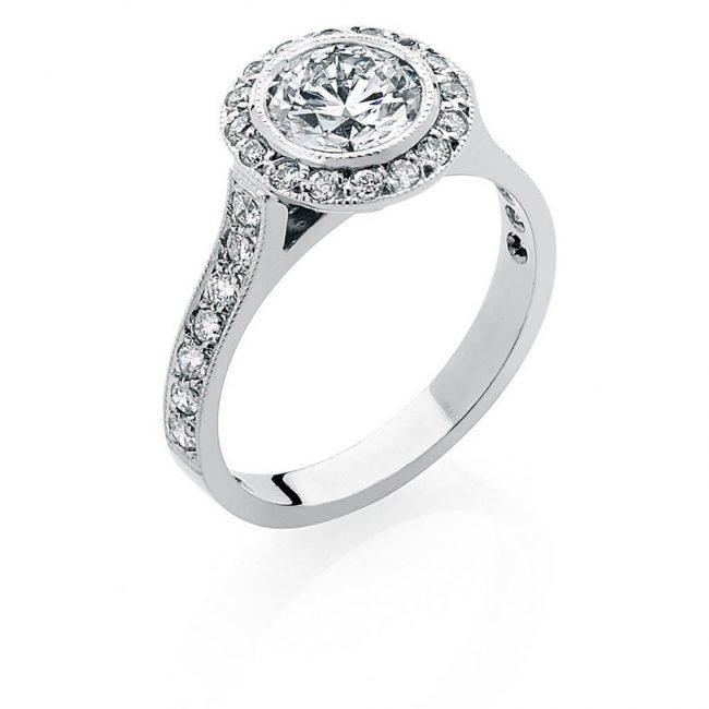 Josephine Diamond Ring - Kush Diamonds