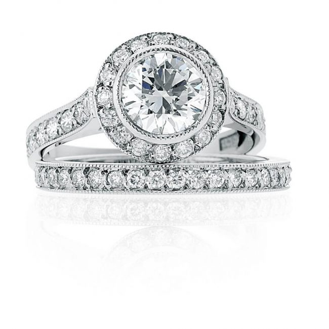 Josephine Wedding Ring - Kush Diamonds