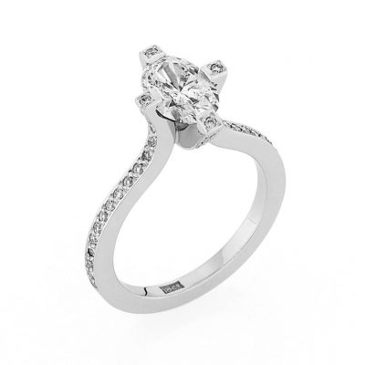 Lily Diamond Ring - Kush Diamonds