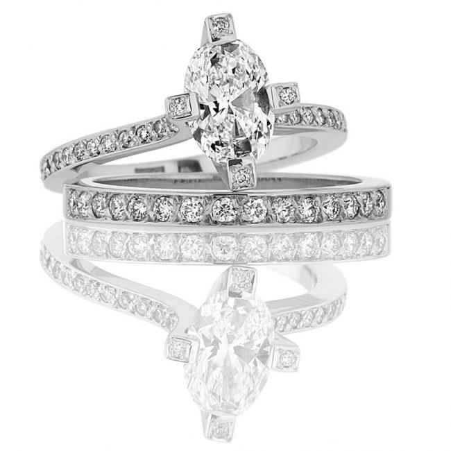 Lily Wedding Ring - Kush Diamonds