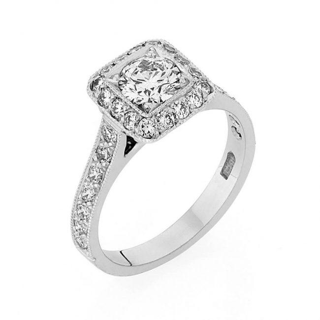 Madeline Diamond Ring - Kush Diamonds