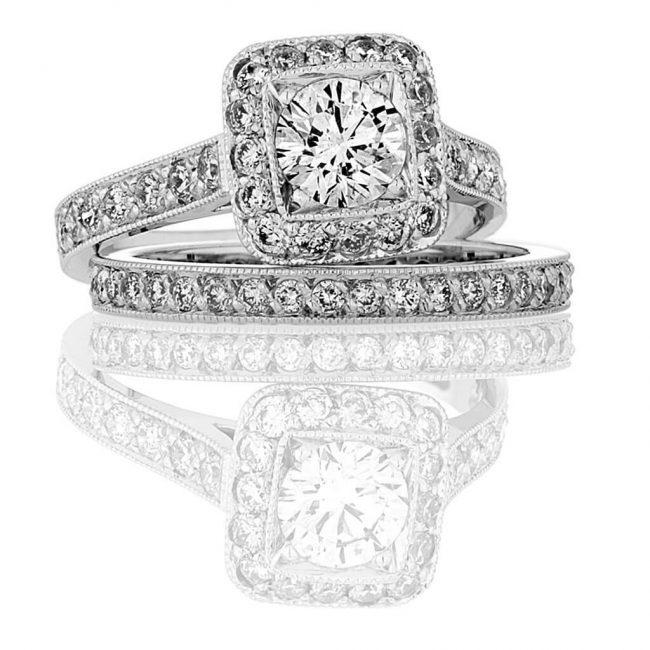 Madeline Wedding Ring - Kush Diamonds