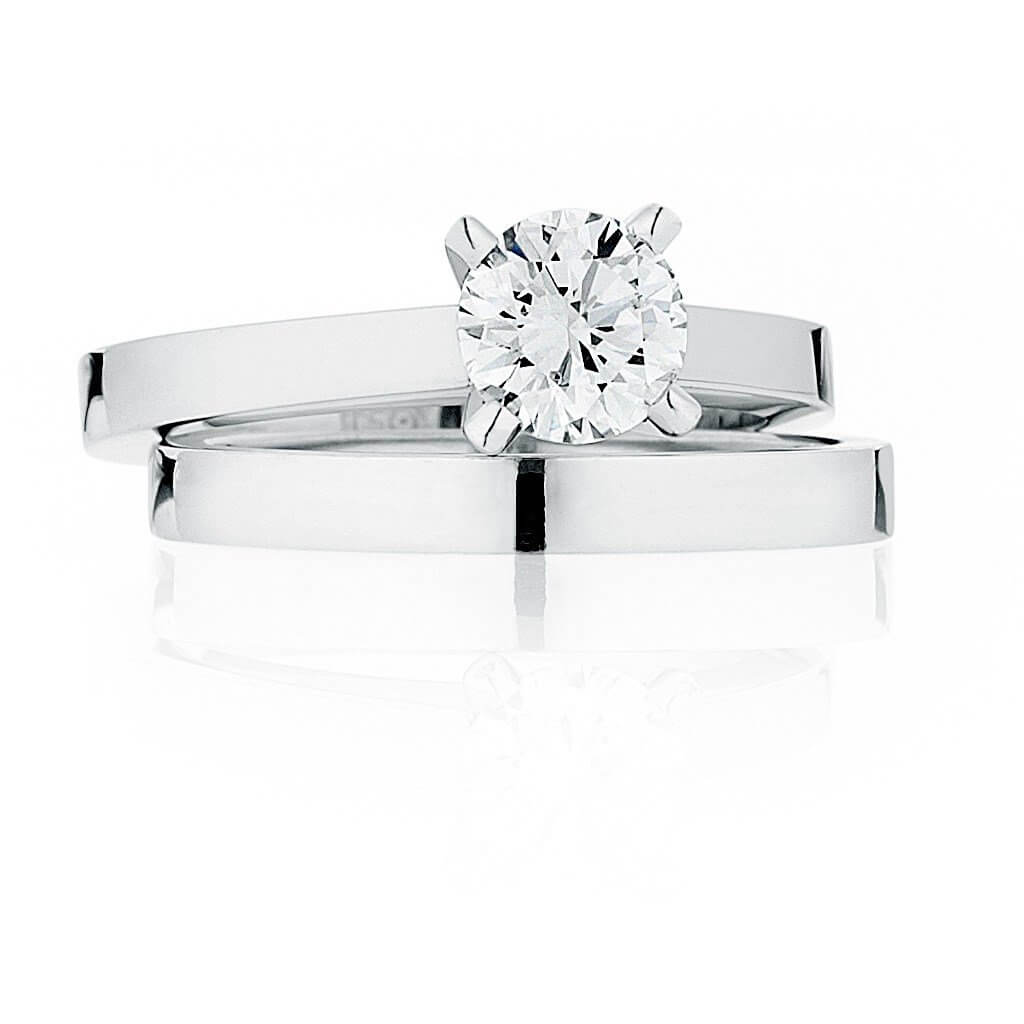 Marylin Engagement and Wedding Ring