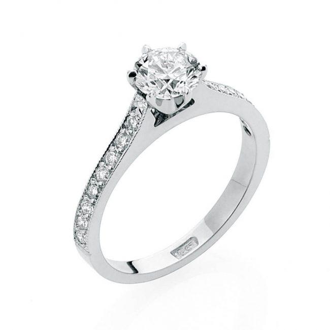 Matilda Diamond Ring - Kush Diamonds