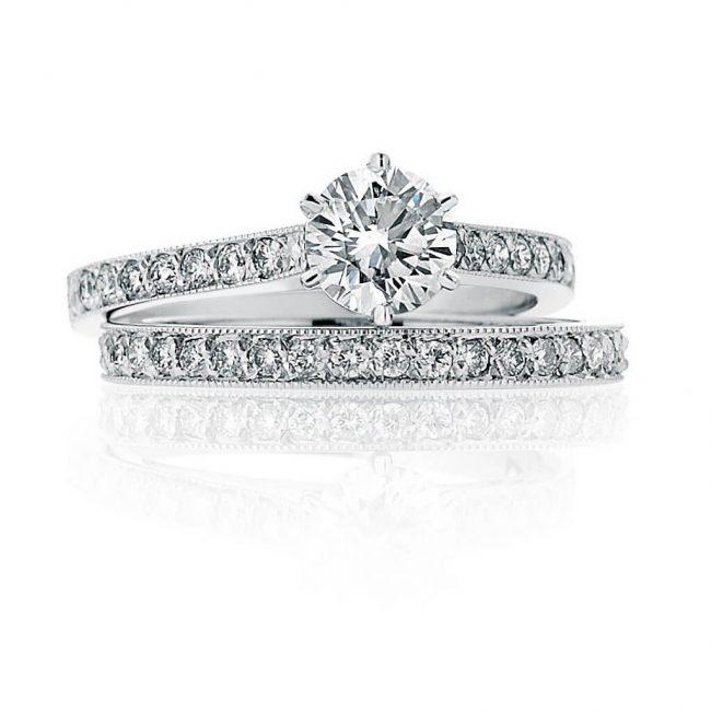 Matilda Wedding Ring - Kush Diamonds