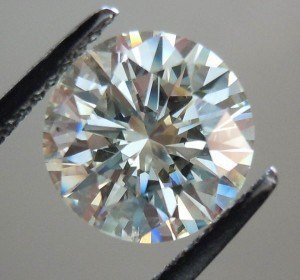 Round Brilliant Cut Diamond 1.00 Carat D Colour, VVS1 Clarity, GIA Certified
