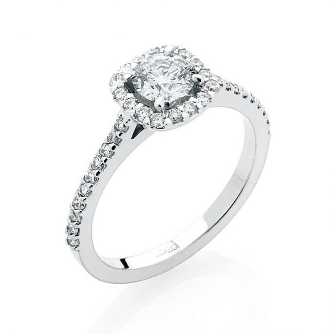 Rose Diamond Ring - Kush Diamonds
