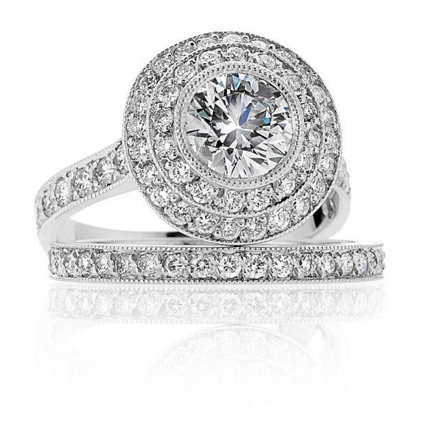 Zavannah Wedding Ring - Kush Diamonds